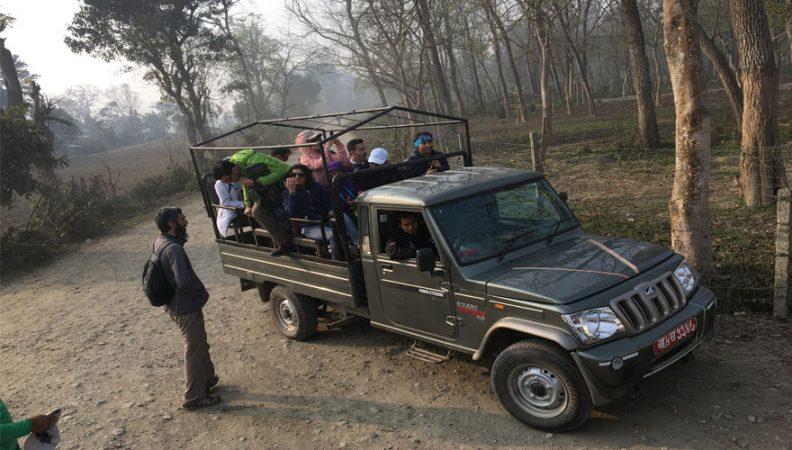 Chitwan Jeep Travel